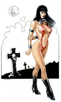 Vampirella by Reverie-drawingly