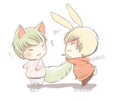 Key and Himchan by KnotBerry