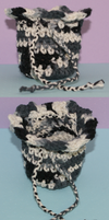 Crochet Pouch by SqueekAndDestroy