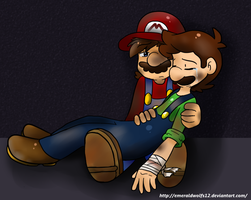 AT:  Comfort Luigi by MariobrosYaoiFan12