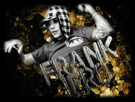 Frank Iero Wallpaper 2 by angryannoyance