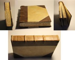 Bookbinding medieval style by Joshua-Mozes