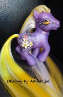 My little pony custom Okalany by AmbarJulieta