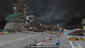 Aircraft Carrier - Dead or Alive 5 by JhonyHebert