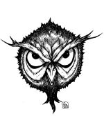 Cave Owl Mask by Eastforth