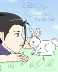 Zack and the Easter Bunny by ForeverFallen304