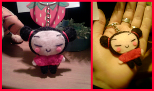 Pucca Keychain by ChiisaiAmy