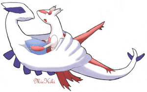 Request: Lugia+Latias by MieKiki