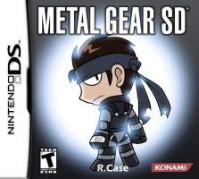Metal Gear SD by rongs1234