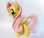 Fluttershy Plush V4 by Wild-Hearts