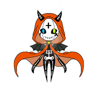 Halloween monster pet adoptable open CLOSED by AS-Adoptables