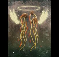 Obey Flying Spaghetti Monster by RoyalFlowerGarden