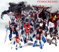 Starscreams by Unicron9