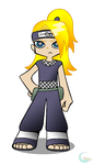 Deidara: Panty and Stocking Inspired by Galaxianista