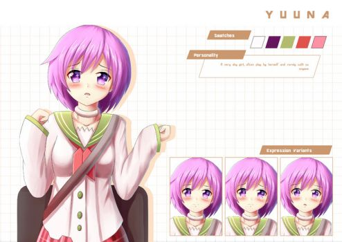 Commission: Yuuna by Prophosphere