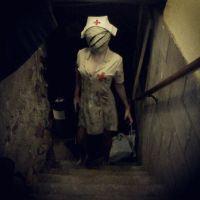 Bubble Head Nurse Cosplay by MissPyramidHead4