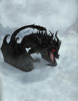 Alduin the World Eater by Anutwyll