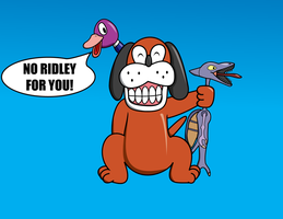 Duck Hunt: No Ridley For You by daimando
