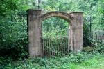 Overgrown Gate 2 - Stock by OghamMoon