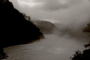 The Teesta in sepia 3 by bingbing51