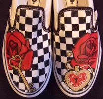 Key and Locket Shoes by johneboi