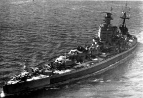 British Battleship Nelson by achmedthedeadteroris