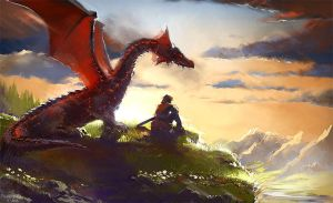 Dragon by Pierrick