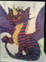 Multi-Colored Dragon by SighVerbally