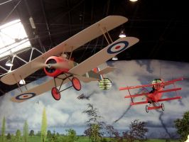 Snoopy and the Red Baron by recursiveLoop