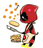 Chibi Deadpool by wish114