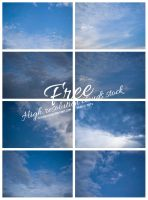 Clouds Stock by IvaxXx