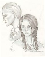 Scorpius and Rose by xLillyWonka