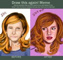 Emma Watson Draw This Again Meme by amirafox