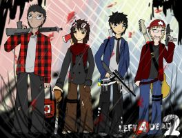The Survivors - L4D by Winged-Moon