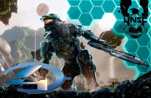 Halo 4 Custom Wallpaper 3 by drayh1985