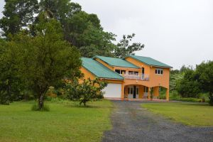 House and vegetation of Martinique 2 by A1Z2E3R