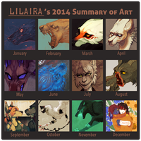 Summary of art 2014 by LiLaiRa