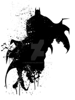Batman Splatter by rcrosby93