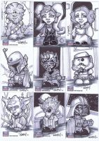 Star Wars Galaxy 7-10 by BankyOne