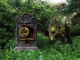 Jurassic Park Carnotaurs Pen 2 by OniPunisher