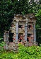 Artifical Ruin, Bayreuth Eremitage by ScraNo