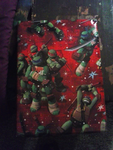 Ninja Turtle Wrapping Paper! by JesusFreak-4Ever