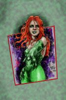 Poison Ivy Sketch by hoganvibe