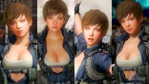Geni -  face import preview [DOA5LR] by SaafRats