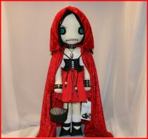inspired by Little Red Riding Hood 1317 by Zosomoto