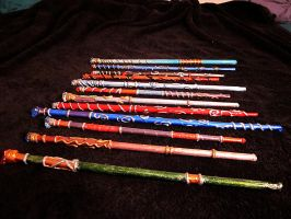 New Cosplay Magic Wands on Etsy! by lady-cybercat