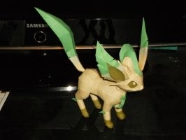 Leafeon shiny 2 by BlackRose8083