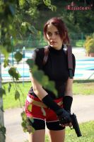 Claire Redfield RE2 cosplay VI by Rejiclad