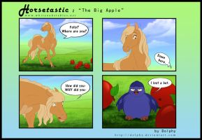 Horsetastic - The Big Apple by DolphyDolphiana