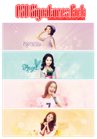 PSD Signatures Pack by BiYoonaddict